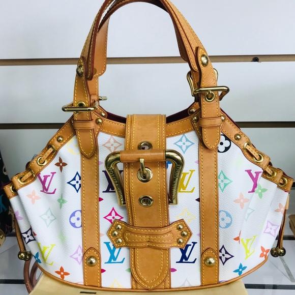 Louis Vuitton Handbags - LOUIS VUITTON THEDA GM MULTICOLOR EUC